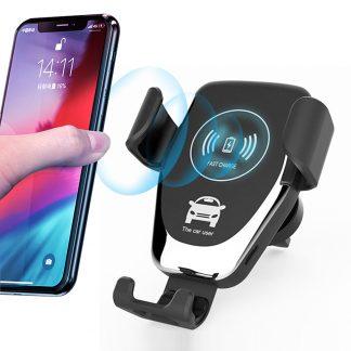 BRZI WIFI auto punjač i nosač telefona