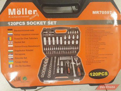 NOVO AKCIJA! - Moller set od 120 gedora i alata
