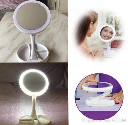 Ogledalo za šminkanje sa LED svjetlom