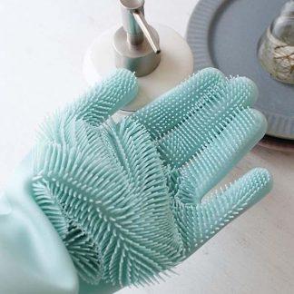 Silikonske rukavice za višenamjensko čišćenje