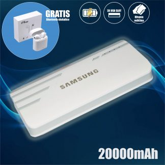 Samsung Power bank 20000mAh GRATIS Bluetooth Slušalice
